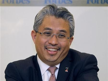 MD Azman Mokhtar receives award, first ever conferred. — Reuters file pic
