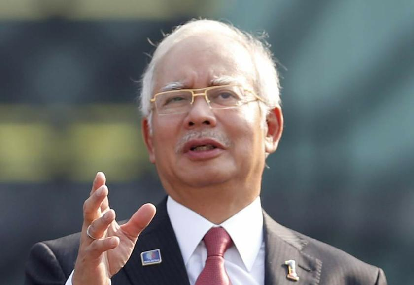 Datuk Seri Najib Razak said there were efforts to spread deviant thinking by relating it to the sanctity of Islam and this was the most dangerous threat to the Islamic faith. — Reuters pic