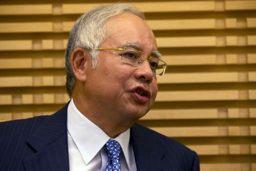 Datuk Seri Najib Razak before speaking at the Global Entrepreneurship Summit at the Kuala Lumpur Convention Centre in Kuala Lumpur October 11, 2013.— Reuters pic