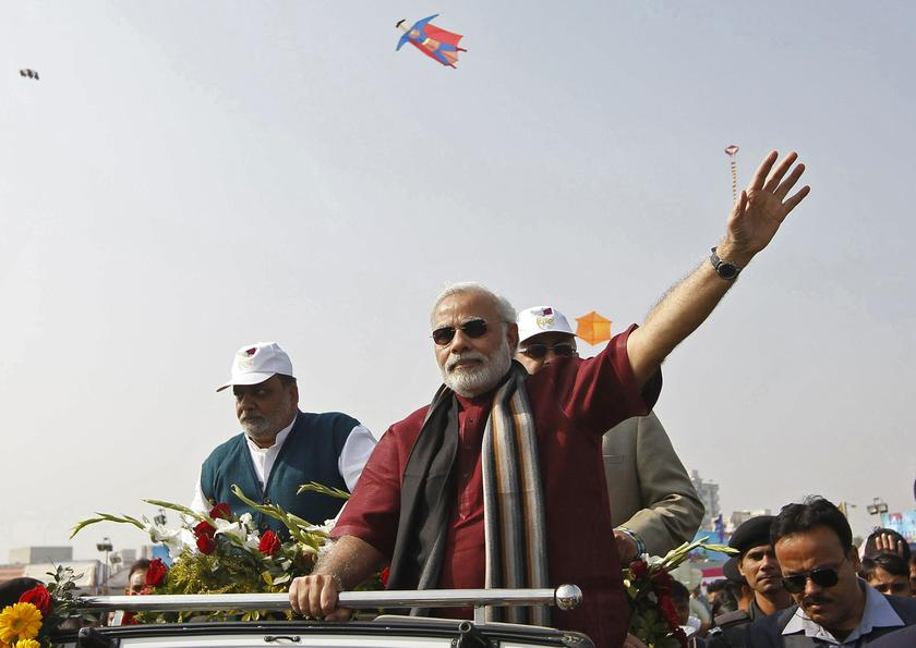 Modi also said that there had been no discussion on creating the nationwide register.— Reuters pic