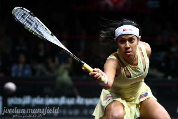 Datuk Nicol David advanced to the semi-finals of the Netsuite Open Squash Championships in San Francisco yesterday. — Picture by Jordan Mansfield