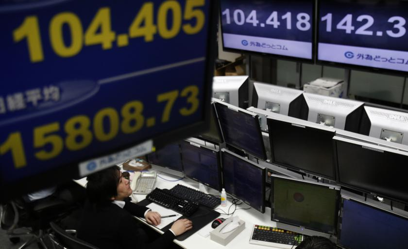 In early Asia trade, Australia's S&P/ASX 200 was down 0.5 per cent, South Korea's KOSPI shed 0.4 per cent while Japan's Nikkei 225 was down 0.9 per cent. ― Reuters pic