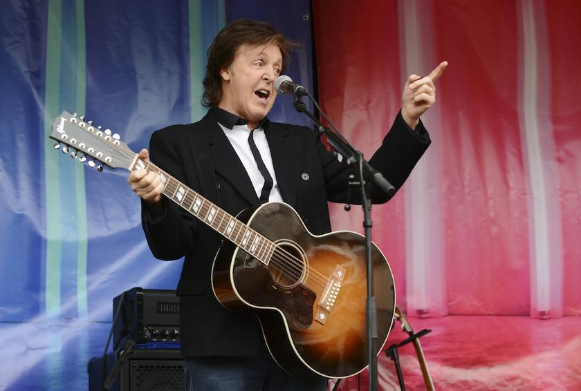 Paul McCartney is set to perform at Tokyo's Nippon Budokan Hall and Tokyo's National Stadium this month. — Reuters pic