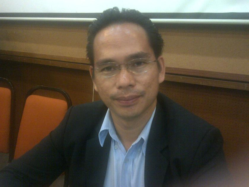 File picture of Sarawak PKR Information chief Abun Sui Anyit. — Picture by Ida Lim