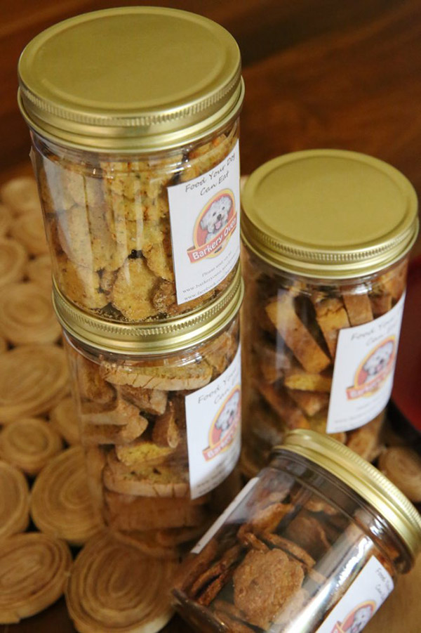 Barkery Oven dog treats are made-to-order to ensure freshness for your furry friend