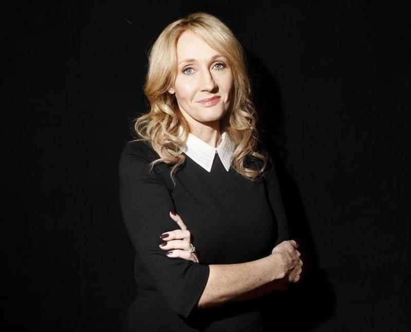 Harry Potter author JK Rowling will release a new children's book entitled 'The Christmas Pig' this autumn. — Reuters pic