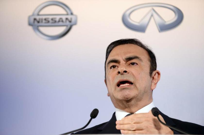 The chief executive of the Renault-Nissan Alliance, Carlos Ghosn. — AFP pic