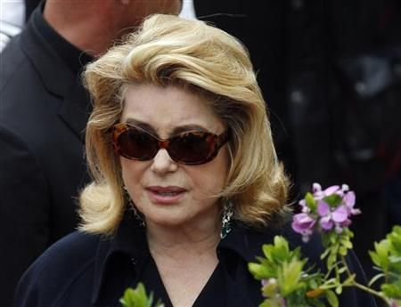 Catherine Deneuve was among French celebrities who signed a petition against a prostitution ban. — Reuters pic