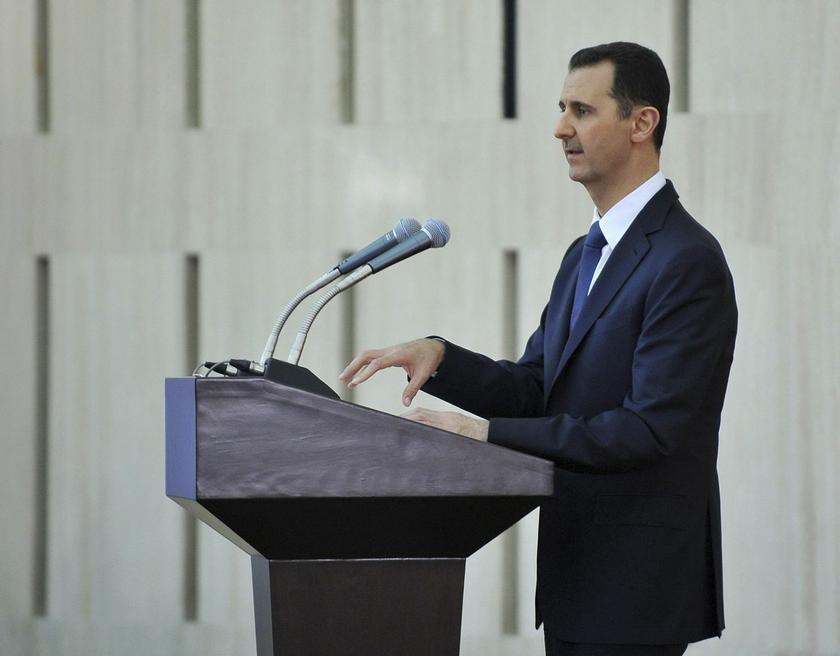 Syria President Bashar al-Assad's decree is a so-called 'general amnesty' .— Reuters pic