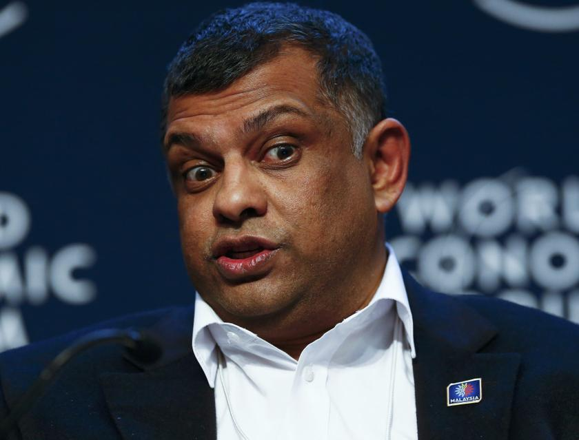 Tony Fernandes takes to Twitter again to voice his displeasure about MAHB. — Reuters pic