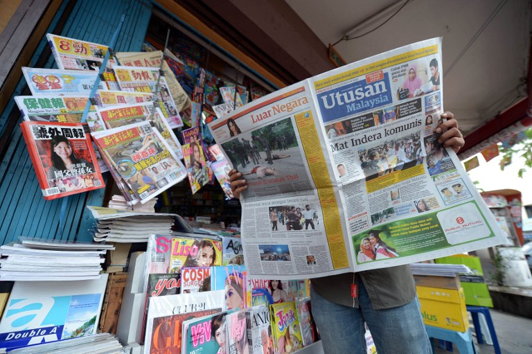 An Utusan Malaysia editor said Malaysia would lose nothing if it shut its doors to Africans who were becoming brazen in committing crime. — AFP pic