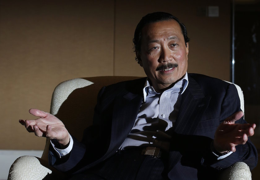 Tan Sri Vincent Tan today blamed airport authorities after a man died in a runway collision involving his company jet at the Subang airport. — Reuters pic
