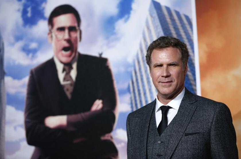 Actor Will Ferrell poses at the UK Premiere of the film Anchorman 2 in Leicester Square, London, December 11, 2013. — Reuters pic